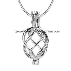 Custom Flower Cage Pendant for Pearls 925 Sterling Silver Jewelry pictures & photos
