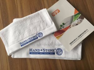 High Quality 100% Cotton Embroidery Hotel Towels pictures & photos