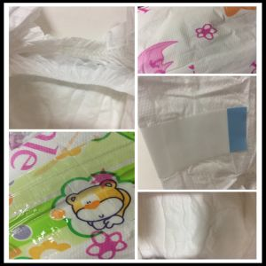 Small Package Sleepy with Leak Guard PE Film Baby Diaper pictures & photos