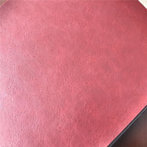 High Quality Bovine Fiber Leather for Furniture Car Seats pictures & photos