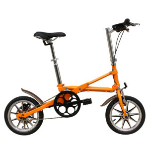 Folding Bicycle Bike Road Bicycle V Brake Bicycle Yz-6-14 pictures & photos