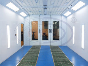 Wld8200 Spray Painting Booth for Auto Cars pictures & photos