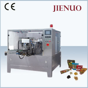 Jienuo Rotary Pre-Made Food Pouch Packing Machine pictures & photos