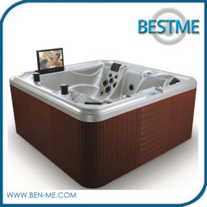 Foshan Factory Popular Fashion Outdoor Whirlpool SPA Jacuzzi (BT-1807) pictures & photos