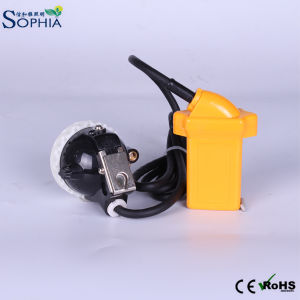 Waterproof 3ah Miners Safety Cap Lamp LED with Rechageable Battery pictures & photos