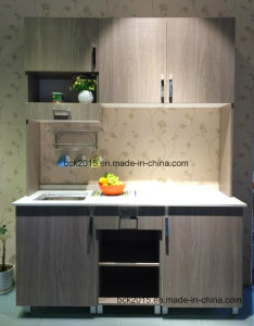 The Lowest Price Sample for Sales Melamine Moistureproof Particleboard Kitchen Cabinets pictures & photos