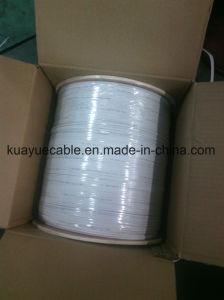 Fiber Optic Cable FTTH GJXFH 4 Core White Colour pictures & photos