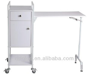 Modern Wholesale Attractive Manicure Salon Furniture Nail Salon Table pictures & photos