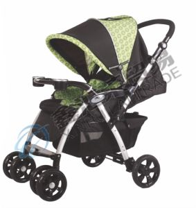 Baby Stroller with Second Lock and Seat Pad pictures & photos