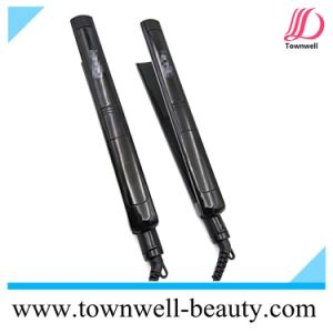 Temperturer Adjustable Digital Hair Straightener with Logo Printing pictures & photos