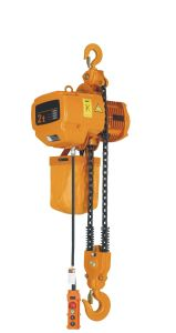 Electrical Chain Hoist with G80 Lifting Chain pictures & photos