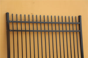 2000mm*2400mm Ornamental Tubular Garrison Fencing for Australia Market pictures & photos