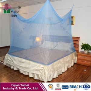 100% Polyester Printed Fabric Rectangluar Mosquito Net pictures & photos