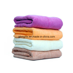 100% Cotton Custom Printed Cotton Towel for Beach Promotion Supersoft Cheap 2015 Hotsale China OEM High Quality Velour pictures & photos