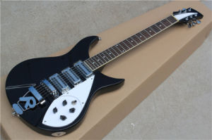Hanhai Music/Black Ricken Style Electric Guitar with 3 Pickups pictures & photos