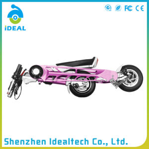 25km/H 10 Inch Folded 2 Wheel Electric Motor Scooter pictures & photos