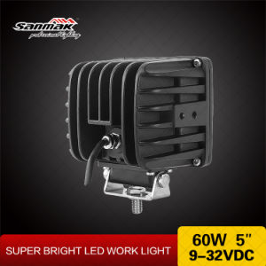 5′′ 60W IP68 Offroad CREE LED Work Light pictures & photos