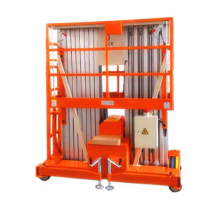 9m Movable Aluminum Alloy Hydraulic Lift with Ce and ISO9001 pictures & photos