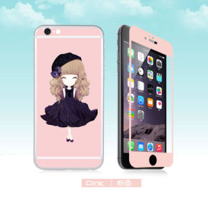 Power Manufacturer! Cartoon Tempered Glass Both Sides Screen Protector for iPhone6/6s in Stock pictures & photos