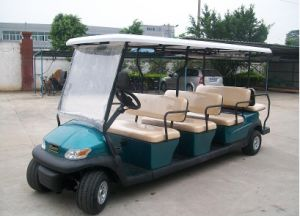 Excar 8 Seater Electric Sightseeing Car for 5A Level Scenic pictures & photos