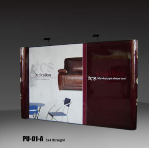 Straight Shape PVC Pop up Display (PU-01-A) pictures & photos
