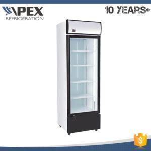 Elegant Single Door Upright Cooler pictures & photos