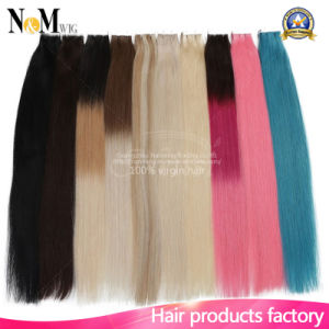 Silky Hair Extension for Full Head/ Human Hair Extension Tape pictures & photos