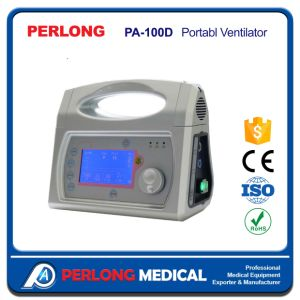 PA-100d Portable Medical Ventilator with Peep Option pictures & photos
