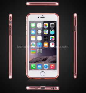 Gold Color Metal Case for iPhone 6 Wholesale, Cell Phone Mirror Case for iPhone 6, for iPhone 6 Mirror Case pictures & photos