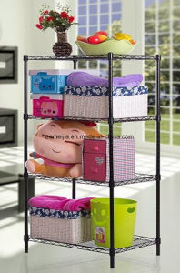 Metal Wire Display Exhibition Storage Shelving for Portugal   Shelf pictures & photos