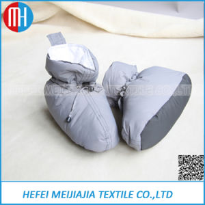 China Supplier Inter Soft Warm White Down Cotton Shoes pictures & photos