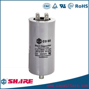 CD60A CD60b Motor Starting Capacitor with Wires pictures & photos