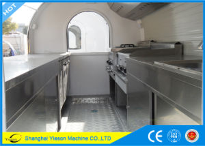 Ys-Fb200b Roomy! 2m Wide High Quality Fast Food Trailer Fast Food Cart Seafood Trailer pictures & photos