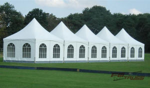 5X5m Party/Wedding Tent, Hot Selling Outdoor Pagoda Party Tent. pictures & photos