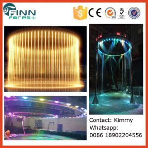 Water Feature Digital Water Curtain Fountain Graphical Waterfall Screen pictures & photos