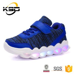 Globe Best Sell High Quality Factory Price Casual Shoes Color Fashion Glow LED Shoe for Kids pictures & photos