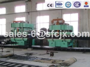 Jaw V-Belt Flat Vulcanizing Machine for Sidewall Belt (XLE-Q400X200) pictures & photos