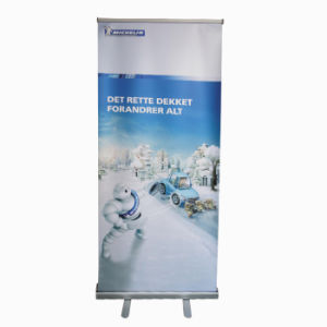 Retractable Roll up Banner Stand Display with Printing (DR-02-C) pictures & photos