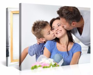 Simple Canvas Family Photo Collage Idea for Home Decoration pictures & photos