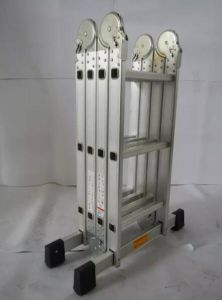 Aluminum Multipurpose Folding Joint Ladder pictures & photos