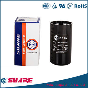 CD60 Motor Starting Capacitor, Refrigerator Capacitor, Air Conditioner Capacitor pictures & photos