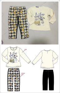 Flower Baby Clothes in Children Kids Wear Sq-17109 pictures & photos