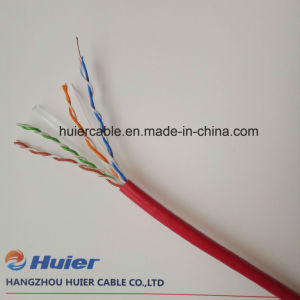 UTP CAT6 Cable with Dual Jacket pictures & photos