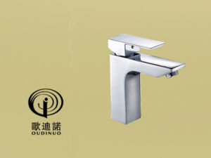 New Style Brass Single Handle Wall-Mounted Kitchen Mixer & Faucet 61518-1 pictures & photos