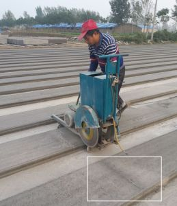 Concrete Board Cutting Machine Cut Concret Precast Panel Slab Post Machine pictures & photos
