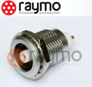 S Series Fixed Receptacle with Nut Fixing in Size 00s/ Coaxial 50 Ohm Circular Connector pictures & photos