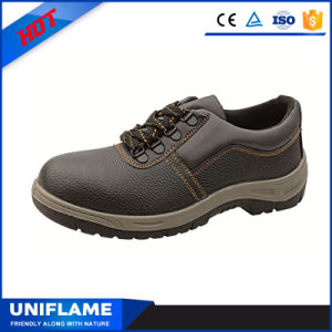 Women ESD PU Outsole Oil & Gas Safety Shoes pictures & photos