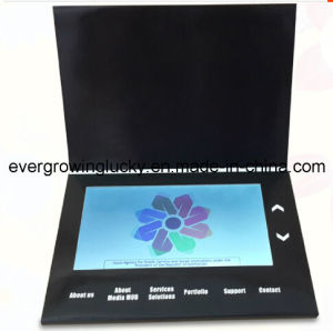 Car Advertising 10.1inch LCD Screen Video Card pictures & photos