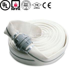 Double Jacket PVC Fire Resistant Hydrant Hose pictures & photos