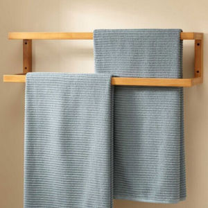 2015 Hot Sell Bathroom Bamboo Towel Rack From China pictures & photos